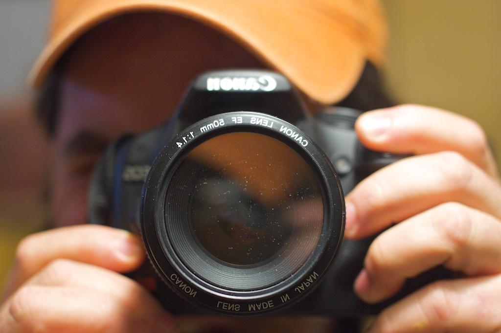 Photographer's Self Portrait