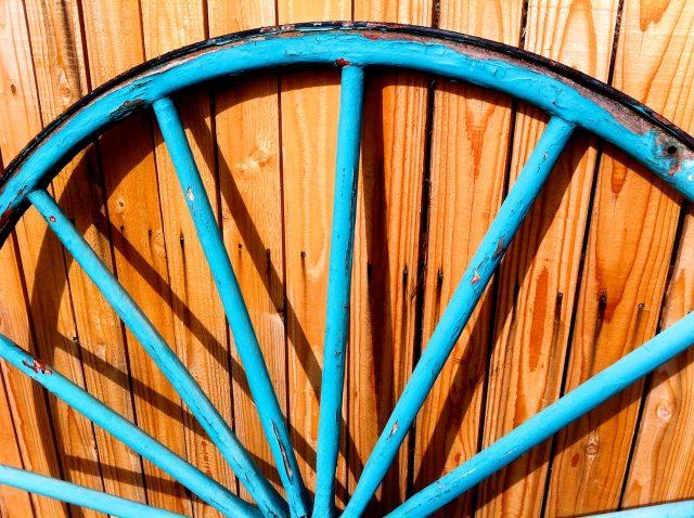 Turquiose Wheel