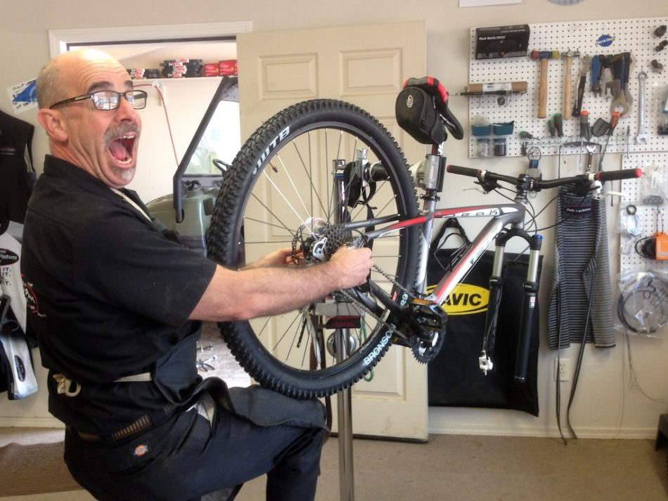 """Braaaaaaaaaap"" Says My Bike Mechanic"