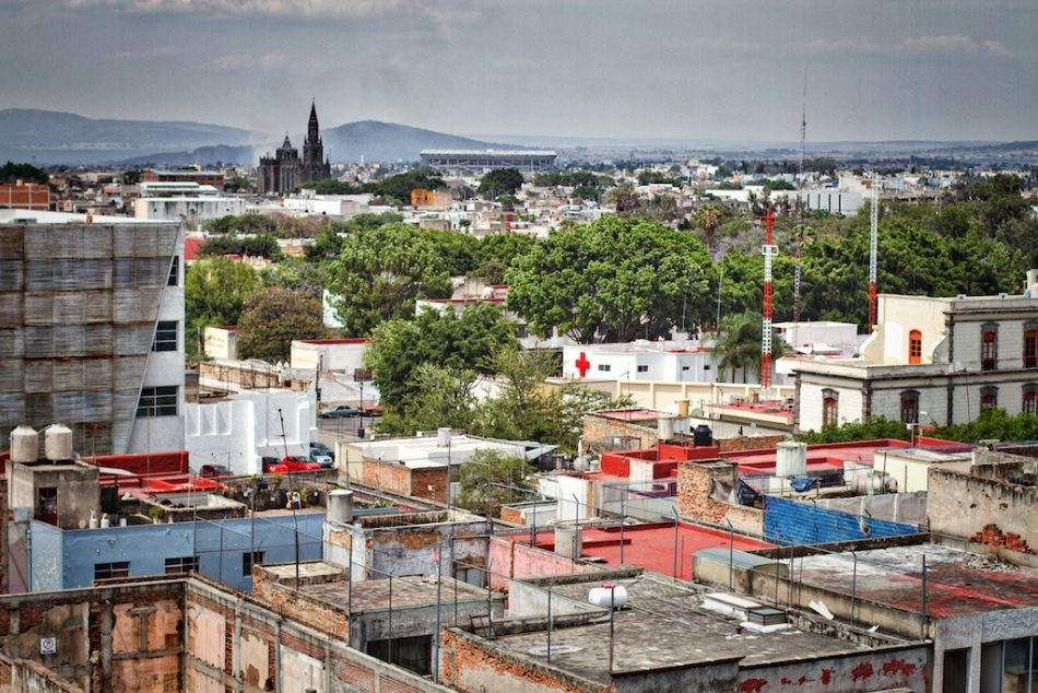 Looking Across Guadalajara