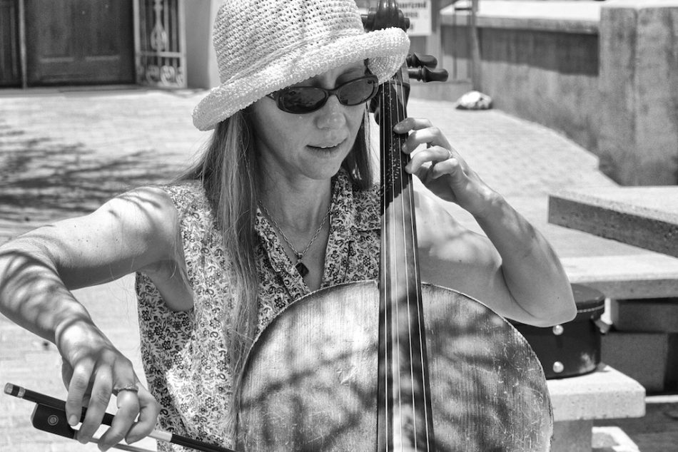 A Cellist from the UK in Arizona